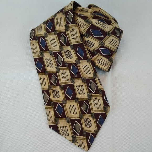 Robert Talbott Other - Robert Talbott Studio Necktie Silk Brown Tan
